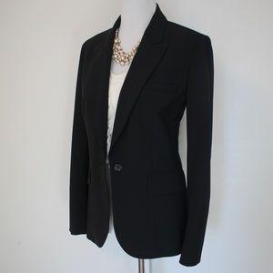 BODY BY VICTORIA Size 10 Black Suit Jacket Blazer